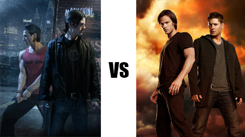 Cal Leandros contre Supernatural